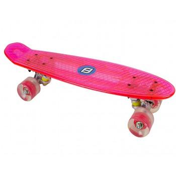 Детски скейтборд с LED светлини, FUNBEE за момичета