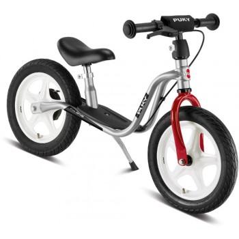 Балансиращо колело със спирачка PUKY LR 1L BR - сребристо и червено