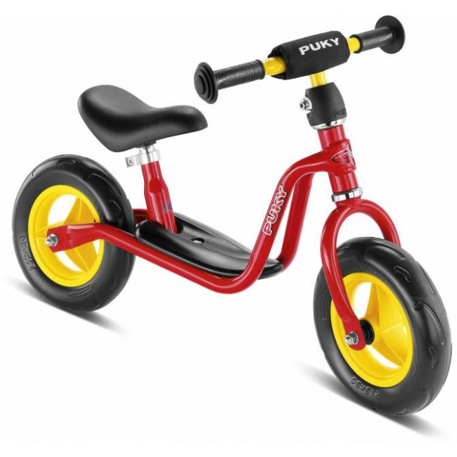Колело без педали за деца над 2 години Puky LR M - червено