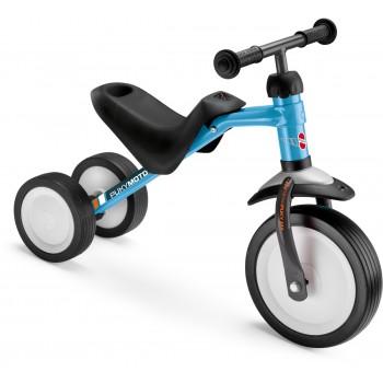Триколка за деца с регулируема седалка - PUKYMOTO синя