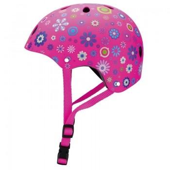 Детски каски за колело и тротинетка, 48-51 см - Розова