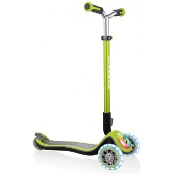 Тротинетка Elite Prime със светещи колела - Зелена