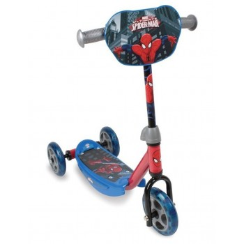 Детска тротинетка с 3 колела - Спайдърмен