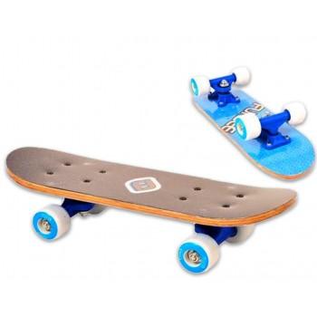 Детски мини скейтборд, FUNBEE - син