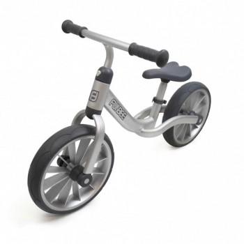 "Детско колело без педали 12"" - сиво"