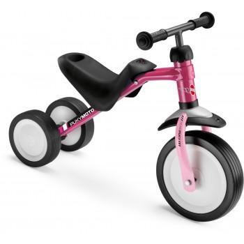 Триколка за деца с регулируема седалка - PUKYMOTO розова