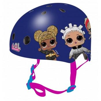 Защитна каска за момичета, размер S, LOL