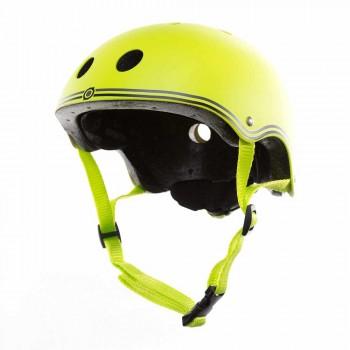 Детска каска за колело и тротинетка, 51-54 см, зелена