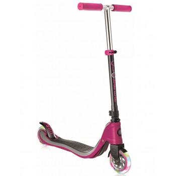 Тротинетка за тийнейджъри Flow 125 Light със светещи гуми, розова