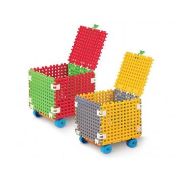 Детски куб за игра и съхранение на играчки - QB