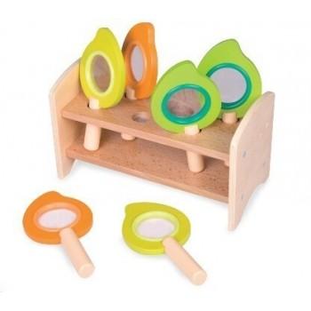 Детски лупи за игра - комплект с поставка