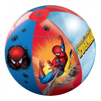 Надуваема плажна топка, Spiderman - 50 см.