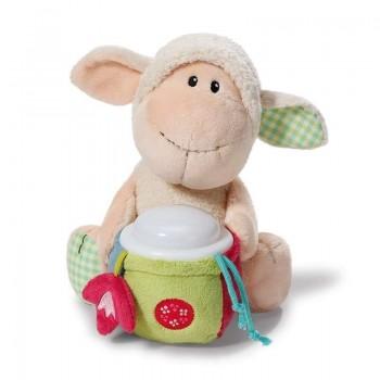 Плюшена овца Мони - детска нощна лампа