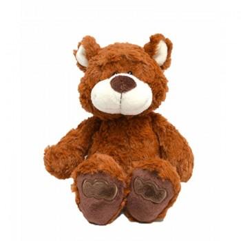 Бебешка играчка плюшено Мече 25 см, кафяво