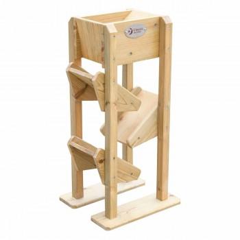 Детска дървена кула за игра в пясъчник