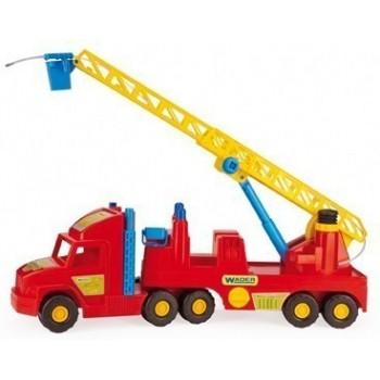 Детска играчка - Пожарникарска кола с механизъм за пръскане
