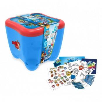 Детска кутия с пособия за рисуване 3 в 1 PAW PATROL