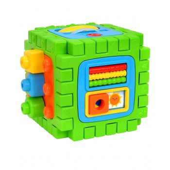 Образoвателно-музикален куб за игра 2 в 1