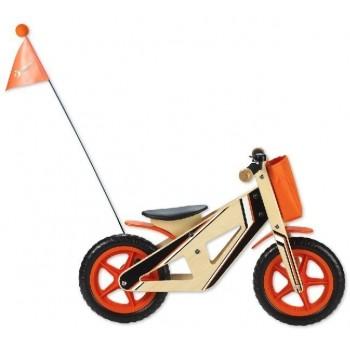 Дървено колело за баланс за деца