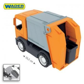 Играчка голям боклукчийски камион с кофа