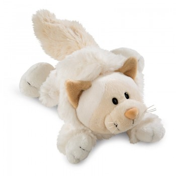 Плюшена играчка лежаща - Коте, 20 см