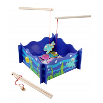 Дървена детска игра - Риболов
