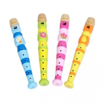 Дървена флейта за деца