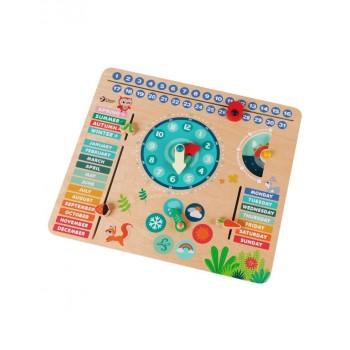 Играчка - часовник с календар Горски обитатели