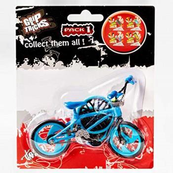 Играчка за пръсти Колело BMX, синьо