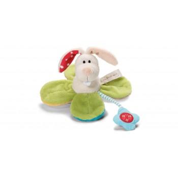 Плюшена бебешка играчка - Зайче