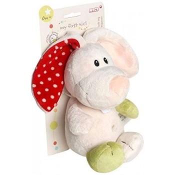 Плюшена детска (бебешка) играчка - Зайче