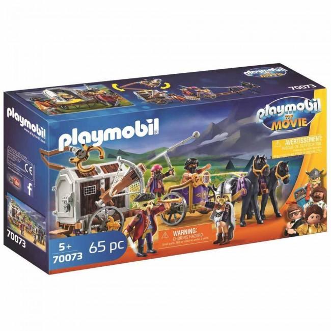 Детски конструктор Playmobil, Чарли със затворническия вагон