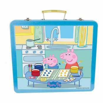 Детско куфарче за рисуване - Прасето Пепа