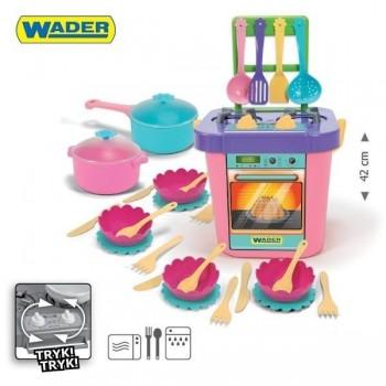 Детска готварска печка с аксесоари