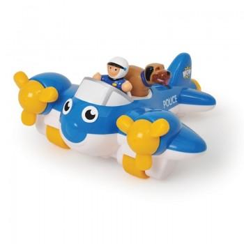 Играчка за деца - Полицейски самолет Пийт