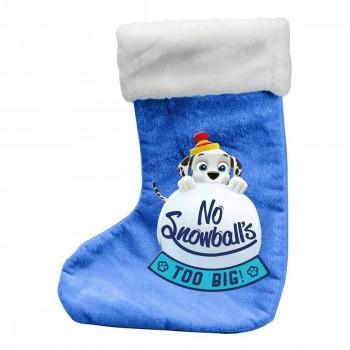 Коледен чорап за подаръци с 80 части за оцветяване, Пес Патрул