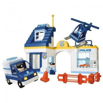 Конструктор за деца - полицейски участък, Unico