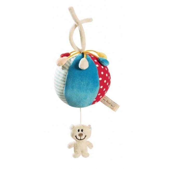 Музикална играчка за количка - Мече с топка