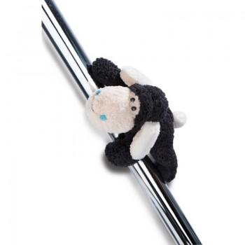 Детска плюшена играчка - овцата Jolly Kasi с магнити, 12 см