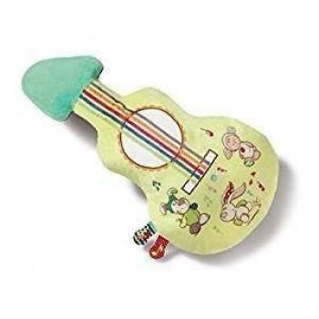 Музикална играчка - плюшена китара, с музика и др.функции