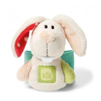 Детска гривна за ръка - плюшено зайче