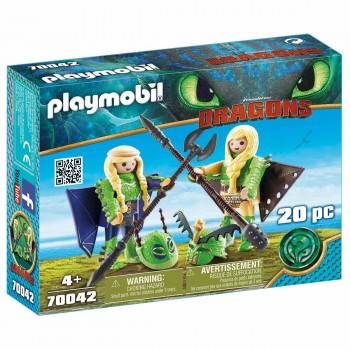 Детски конструктор Playmobil, Raffnut and Taffnut