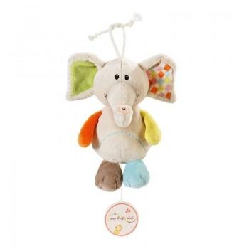 Музикална играчка за количка Слончето Дунди
