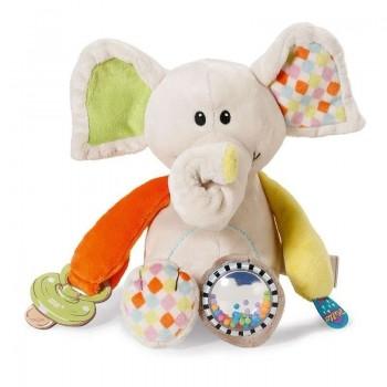 Активна плюшена играчка - Слонче