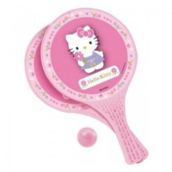Комплект от 2 ракети и топче за игра - Hello Kitty