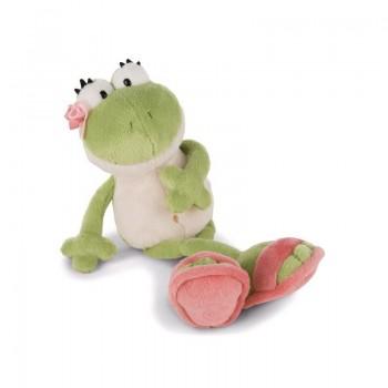 Бебешка плюшена играчка - Жаба