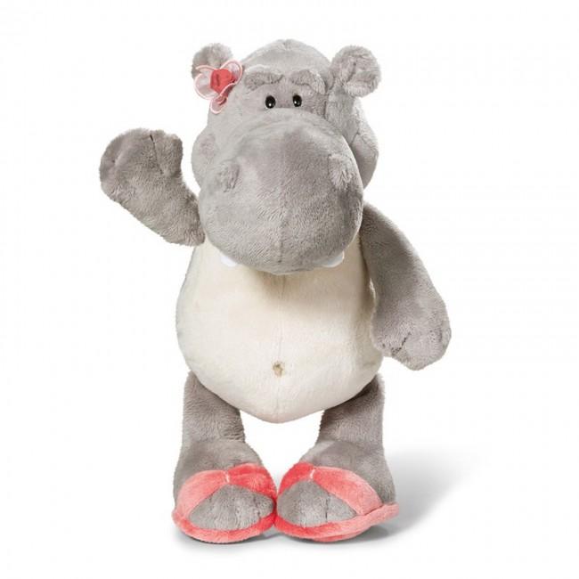 Бебешка плюшена играчка - Хипопотам