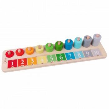 Детска образователна дъска с числа