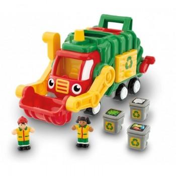 Играчка Камионче за боклук на Фред