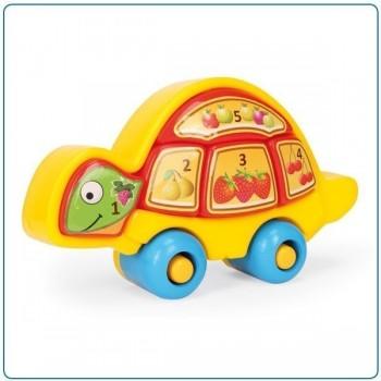 Образователна играчка за бебета - костенурка